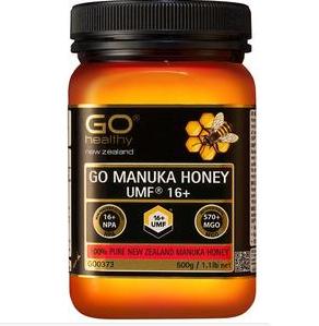 【PD新西兰药房】GO Healthy 高之源 天然麦卢卡蜂蜜 UMF16+ 500g