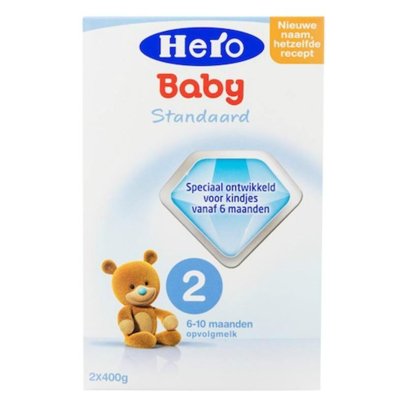 【荷兰DOD】Hero Baby 婴幼儿2段养分奶粉(合适6-10个月婴幼儿)800g