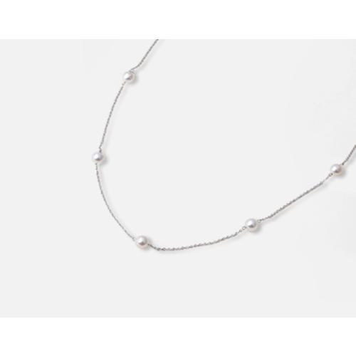 【松屋百货】Maria 8mm阿古屋珍珠银质项链