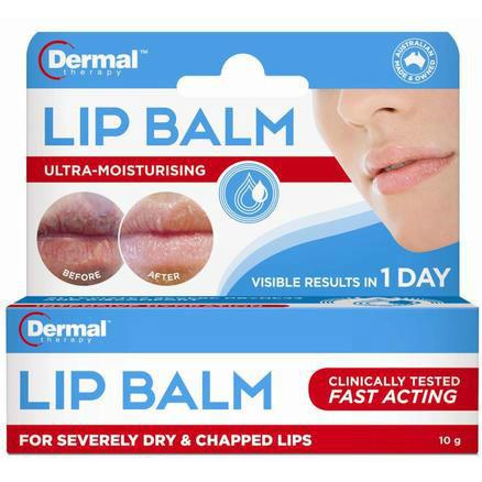 【澳洲PO药房】Dermal Therapy 修复死皮及干裂润唇膏 10g