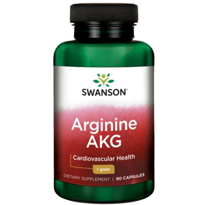 【美国Swanson】【买三免一】Swanson 超级系列AKG精氨酸强健肌肉男性备孕胶囊(提高精子活力)9粒3