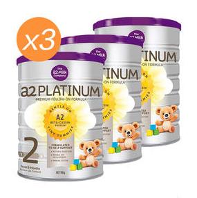 【PD新西蘭藥房】【3罐包郵裝】A2 白金系列 嬰兒配方奶粉(2段)6-12個月 900g3 澳洲/新西蘭隨機發
