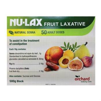 【澳洲CD藥房】Nu-Lax 樂康膏 天然果蔬潤腸通便 500g