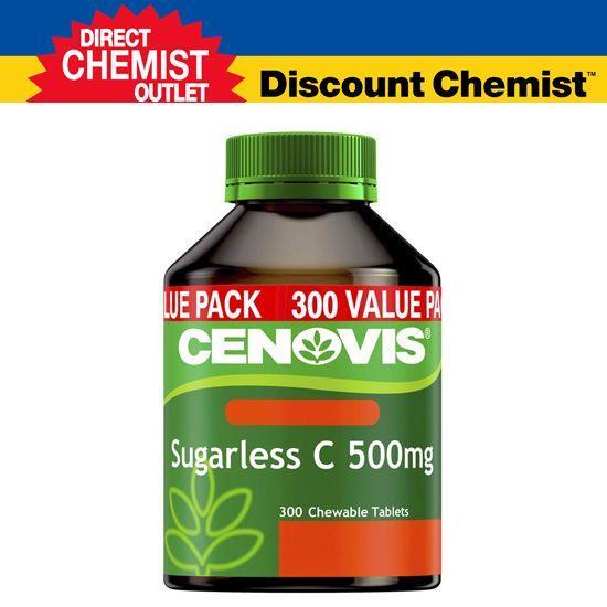 Cenovis 天然维C女性美白 无糖维生素C咀嚼片 300片(橙子味)