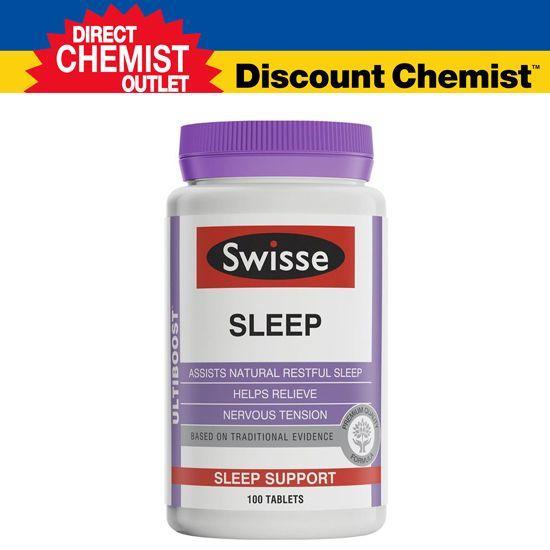 Swisse 天然草本助眠睡眠片 100粒 (促进睡眠/改善睡眠质量)