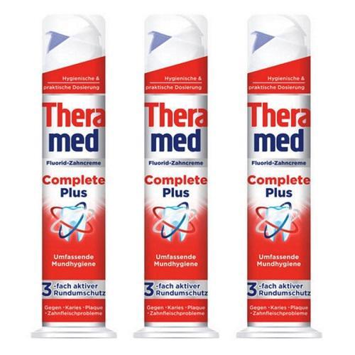 【德国BA】3xTheramed 泰瑞美站立式全效美白牙膏 去除牙渍100ml