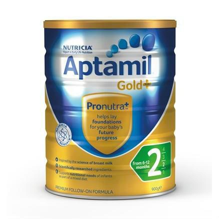 【澳洲PO药房】Aptamil 澳洲爱他美 金装加强型婴幼儿配方奶粉(2段)6个月+900g