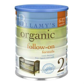 【澳洲CD药房】Bellamy&#039s 贝拉米 有机婴幼儿配方奶粉 (2段) 6-12个月 900g