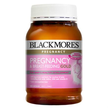 【今日秒杀】Blackmores 澳佳宝 孕期及哺乳黄金营养素胶囊 180粒