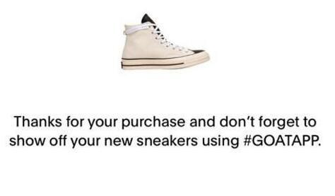 goat买鞋流程 转运地址填写方法