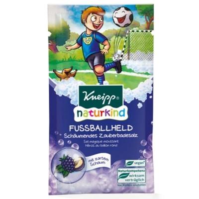 【新品】KNEIPP克奈圃 足球儿童浴盐葡萄黑莓泡泡浴盐70g