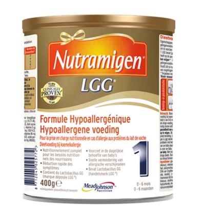 荷兰版美赞臣NutramigenLGG深度水解抗过敏奶粉1/2/3段400G