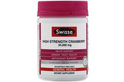 swisse高浓缩蔓越莓胶囊 呵护泌尿系统 保护女性私密健康 (100片)