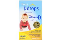 Ddrops 嬰兒用液體維生素D3 400國際單位(2.5ml)