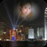 城市夜景相框